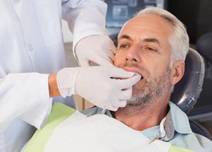 Dentist Examining