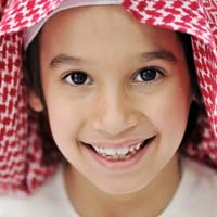 Arabic Child at Dentist